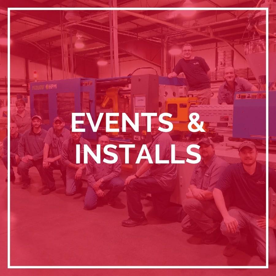 Events & Installs